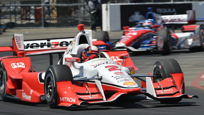 The rabbit ears were gone from Chevrolet's aero kit Friday at Long Beach.