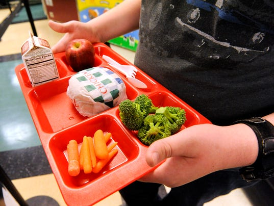 AP EXCHANGE HEALTHIER SCHOOL LUNCHES A ADV USA WI
