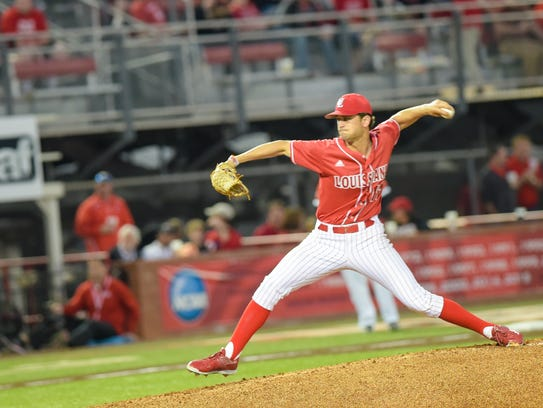 Gunner Leger was UL's 2016 Opening Night starter in