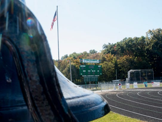 A new score board and the resurfacing of the track