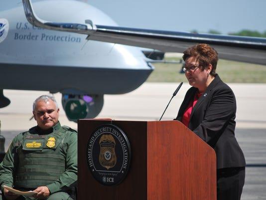 Homeland Security Special Agent Berger