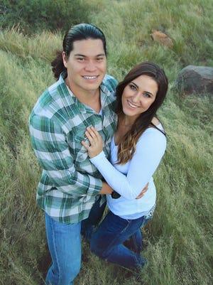 Cameron Mortensen and Lauren Lloyd