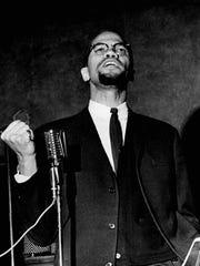Malcolm X speaks at Corn Hill Methodist Church, just