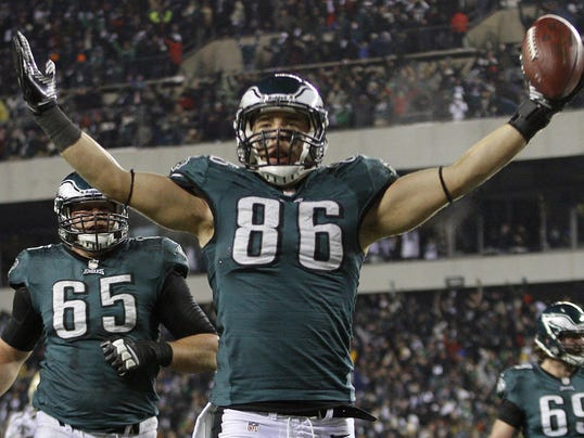 Ertz tight end pic