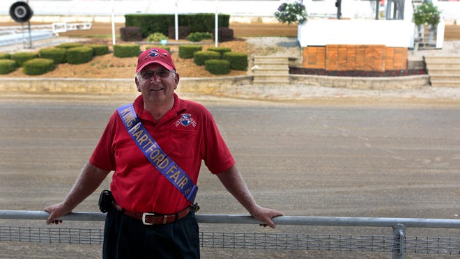 Eddie Payne grew up at the fair. He showed animals, participated in 4H and had the honor of being the first Hartford Fair King. Payne is still active with the Hartford Fair and serves on the fair board.
