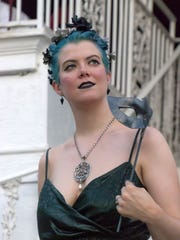 Steampunk and fairy-themed costumes dominate at the annual Midsummer Masquerade. But there is no shortage of glamor, either, as seen in Jo Robbins' costume at the 2016, event. This year's Midsummer Masquerade takes place July 22 at Coney Island's Moonlite Gardens.