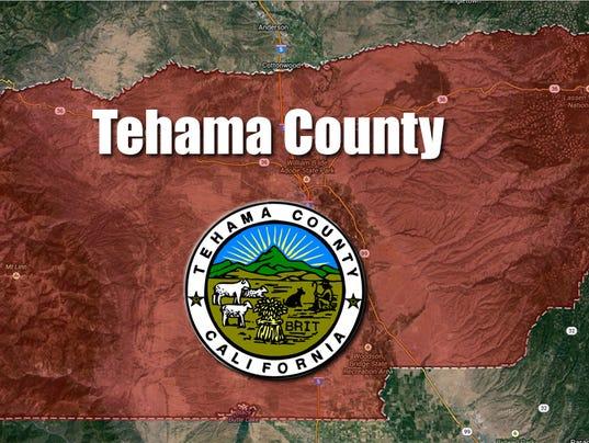 #stockphoto - Tehama County map
