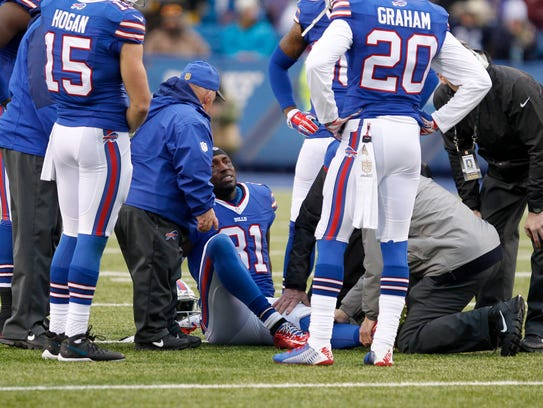 This knee injury in 2015 effectively ended Marcus Easley's