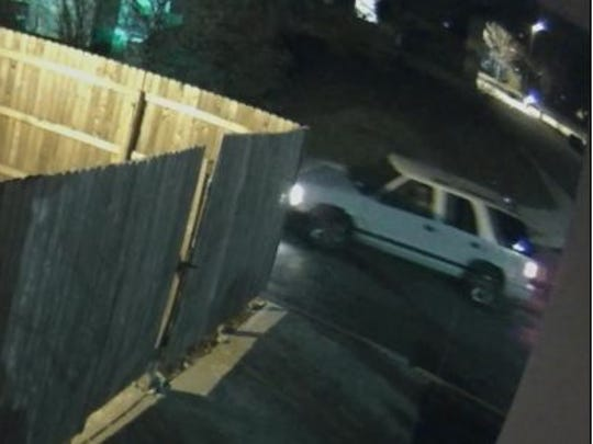 Police are looking for this vehicle, driven by a man they say burglarized a Claymont-area hotel.