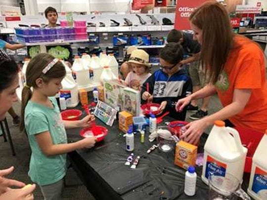 Home Depot locations are offering a slime-making workshop