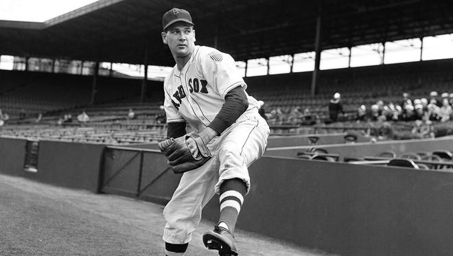 Boo Ferriss won 21 games and finished fourth in MVP voting with the Boston Red Sox in 1945.