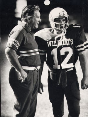 In 38 years of patrolling the high school sidelines for six schools, Ray Akins amassed a record of 293-102-15.