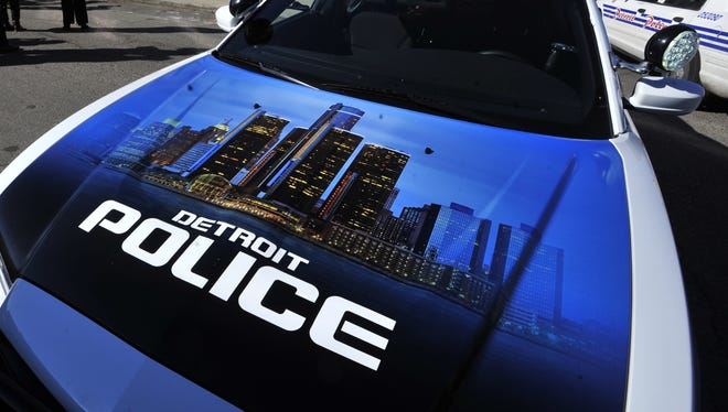 A 40-year-old man is in police custody after allegedly stealing a Detroit Police Department scout car, then having the car traced back to where he drove it, police said.