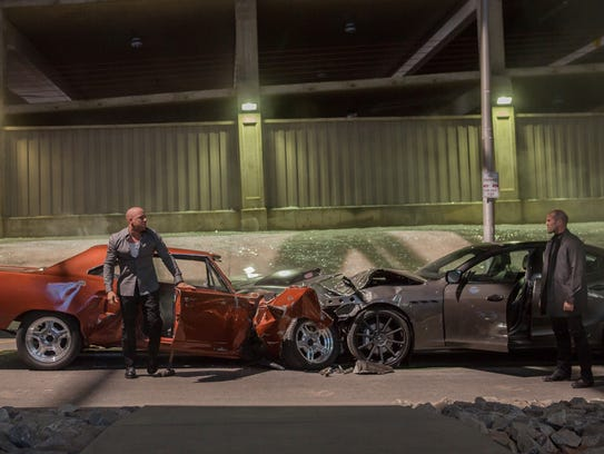 """""""Furious 7"""" raced to the top of the weekend box office"""