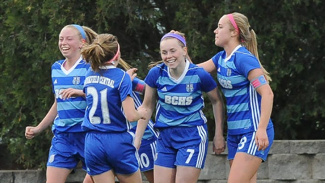 The Brookfield Central girls soccer team earned the top seeding in the tough Sheboygan North Sectional.