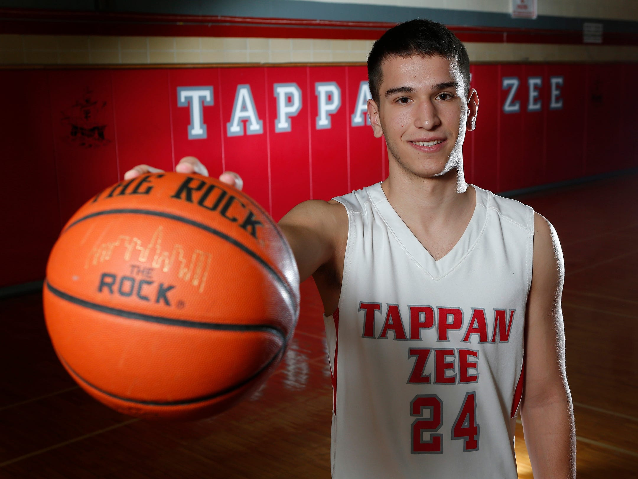 Robert McWilliams, senior, Tappan Zee High School, Rockland County boys basketball player of the year on Tuesday, April 05, 2016.