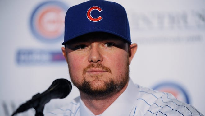 Jon Lester is a three-time All-Star who won two World Series with the Red Sox.