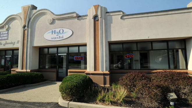 H20 Sushi has closed in Broad Ripple.