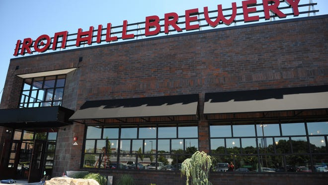Iron Hill Brewery locations will begin tapping three new beers on Monday.