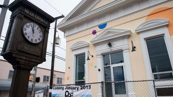 Exterior of Medford Pop Shop, January 18, 2015.