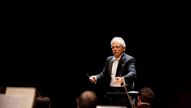 The distinguished Louisville (Ky.) Symphony Music Director Jorge Mester has guest-conducted the Des Moines Symphony four times.