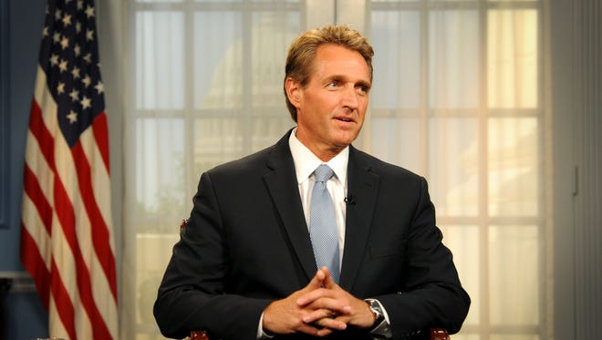 Sen. Jeff Flake, R-Ariz., on Monday told The Arizona Republic that he did not sign on to a Senate GOP letter to Iran's leaders because he didn't think it was appropriate. Flake sits on the Senate Foreign Relations Committee.