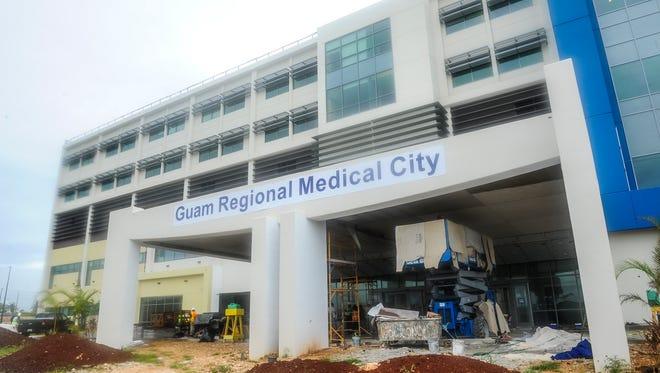 The Guam Medical Regional City in Dededo on June 3.Rick Cruz/Pacific Daily News/rmcruz@guampdn.com