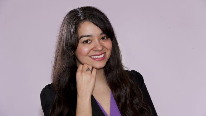 Marina Gaytan on Thursday, January 8, 2015.