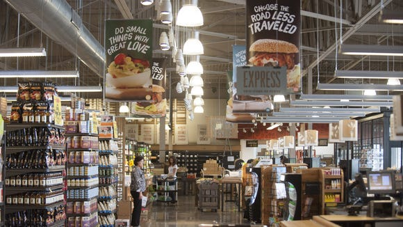 The Whole Foods in Cherry Hill, prior to its grand opening. The store is now turning 1 and celebrating.