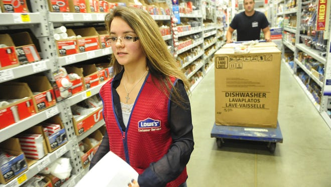 Sabrina Marcum, one of the five students The Tennessean has followed through Tennessee Promise.