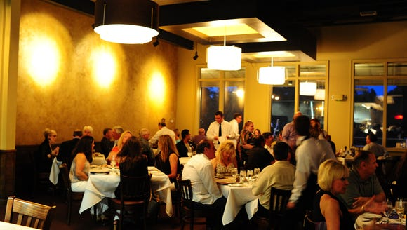 Ruffino's on the River recently debuted Himalayan salt