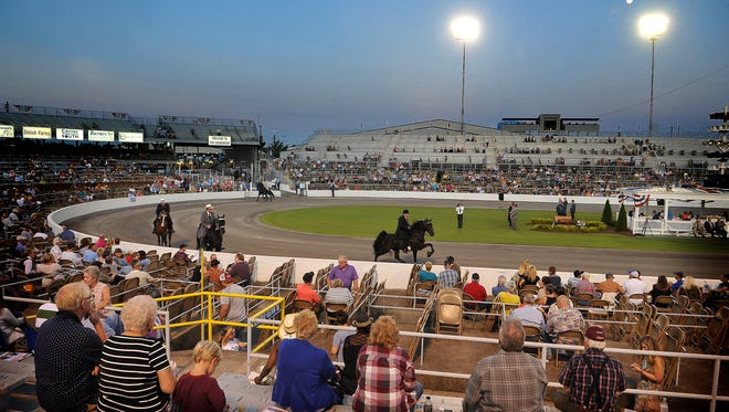 The 77th annual Tennessee Walking Horse National Celebration is under way Thursday in Shelbyville.
