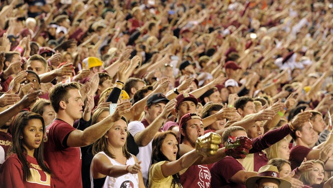 FSU's current policy prohibits  students from locking their firearms in their cars during home football games.