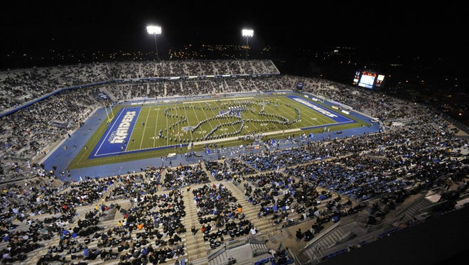 MTSU football coach Rick Stockstill has repeatedly said wants Floyd Stadium to be sold out.
