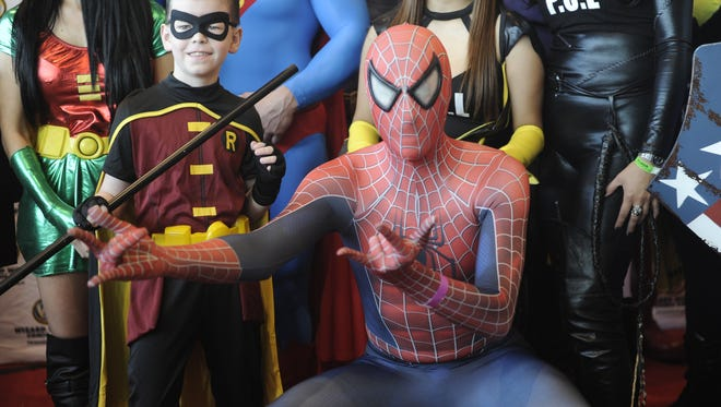 Costumed comic book fans, artists and celebrities will meet at Wizard World Comic Con at the Music City Center.