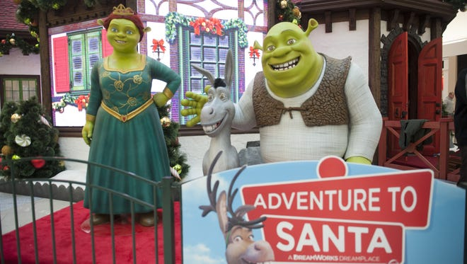 Adventure to Santa - A DreamWorks DreamPlace, is back at Cherry Hill Mall, with changes from last year (pictured here).