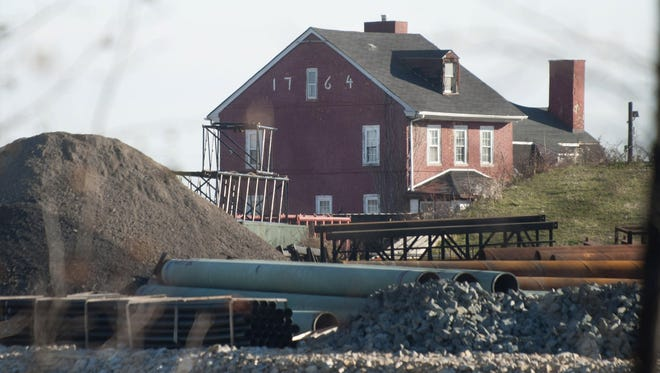 The Hugg-Harrison-Glover House in Bellmawr was torn down in March. The state has said the Department of Transportation failed to get a required permit prior to the demolition.