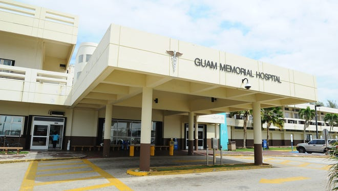 The front of the Guam Memorial Hospital in Tamuning photographed on March 26, 2015.