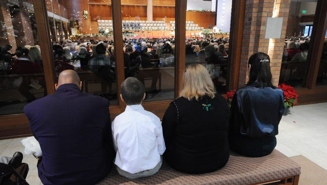 Churches in York County are getting creative in order to accommodate larger-than-normal crowds  for Christmas Eve services.