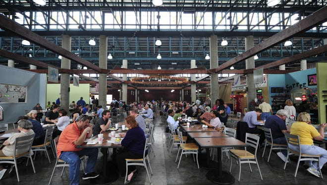 The Nashville Farmers' Market will have its first Night Market of the year Friday.