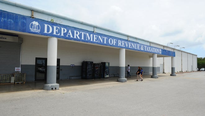 The Guam Department of Revenue and Taxation in Barrigada Heights as shown on March 2015.