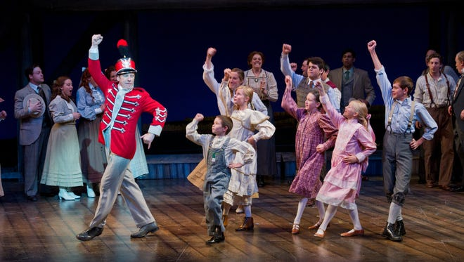 A scene from the Utah Shakespeare Festival's 2011 production of The Music Man.