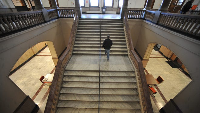 The Wayne County Courthouse is one of several county buildings that will have work done to them soon.