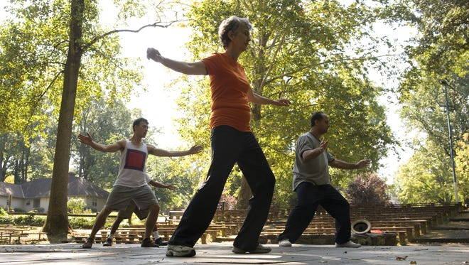 Collingswood's Wellness Week wraps up Saturday with a day of events at Knight Park, including tai chi, yoga and more.