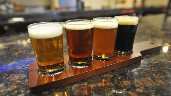 Gulf Coast Brewery will keep between 10-12 original beers on tap. Some of their most popular options include the blonde cream ale, the Irish Red, a wheat ale, and the coffee porter.