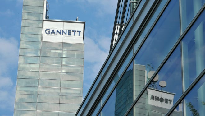 Based in McLean, Va., Gannett publicly revealed Monday its bid to buy Tribune Publishing for about $815 million.
