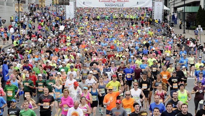 MTA buses will be on detours Saturday due to the St. Jude Rock 'n' Roll Nashville Marathon and 1/2 Marathon.