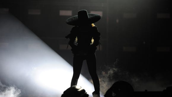 Bey stands alone.