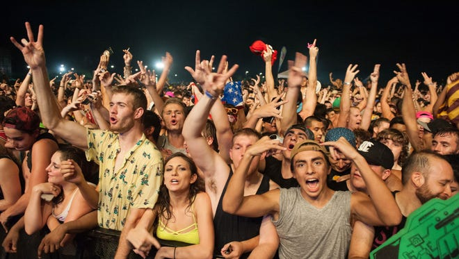 Mad Decent Block Party returns this year for two days on Sept. 16-17 at Rawhide.