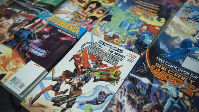 Free Comic Book Day will be celebrated by comic book stores nationwide on May 7.